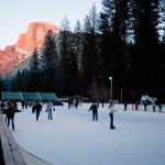Ice Skating in Yosemite