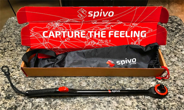 Spivo 360 Selfie Stick Review